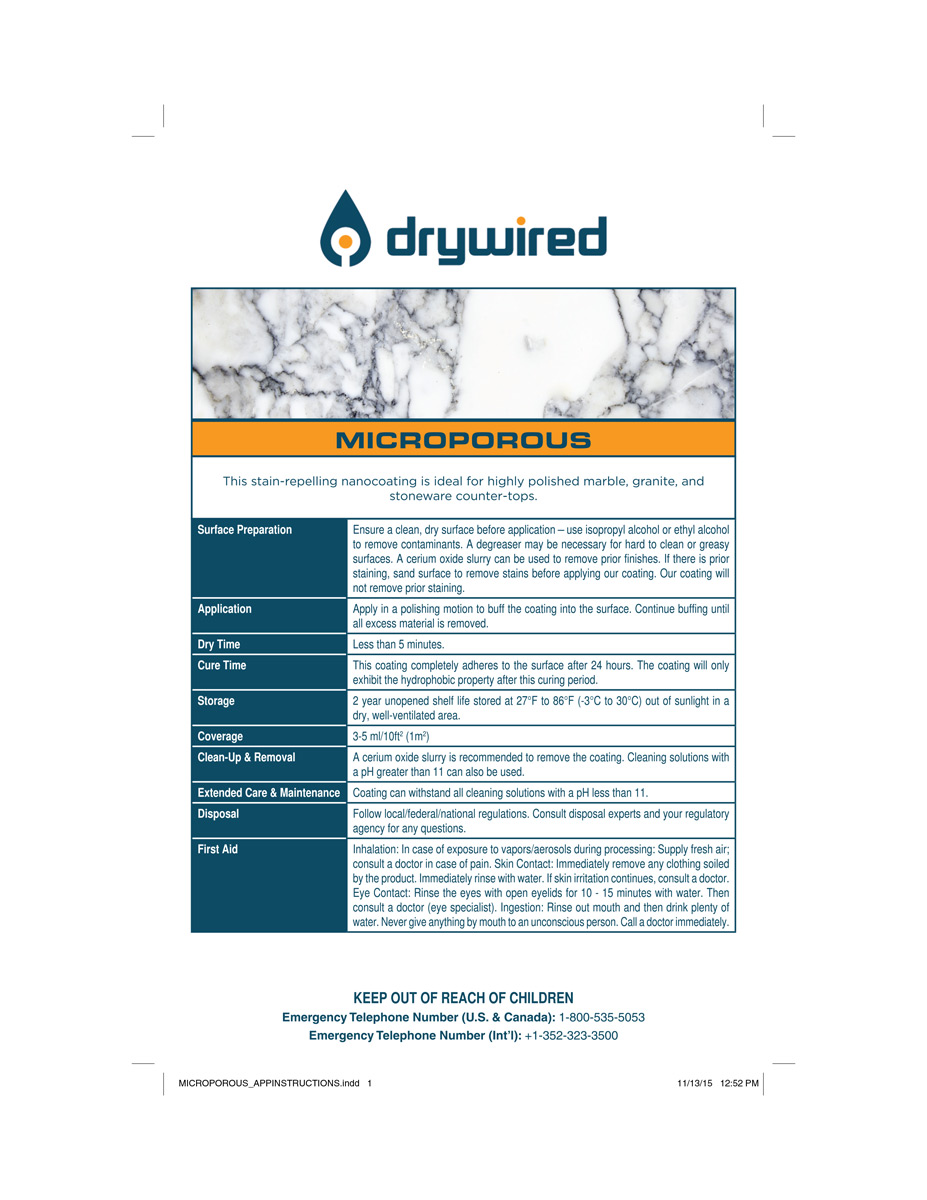 DryWired-Microporous_application