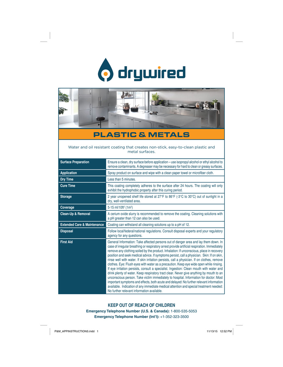 DryWired-Plastic-&-Metals_applicatio