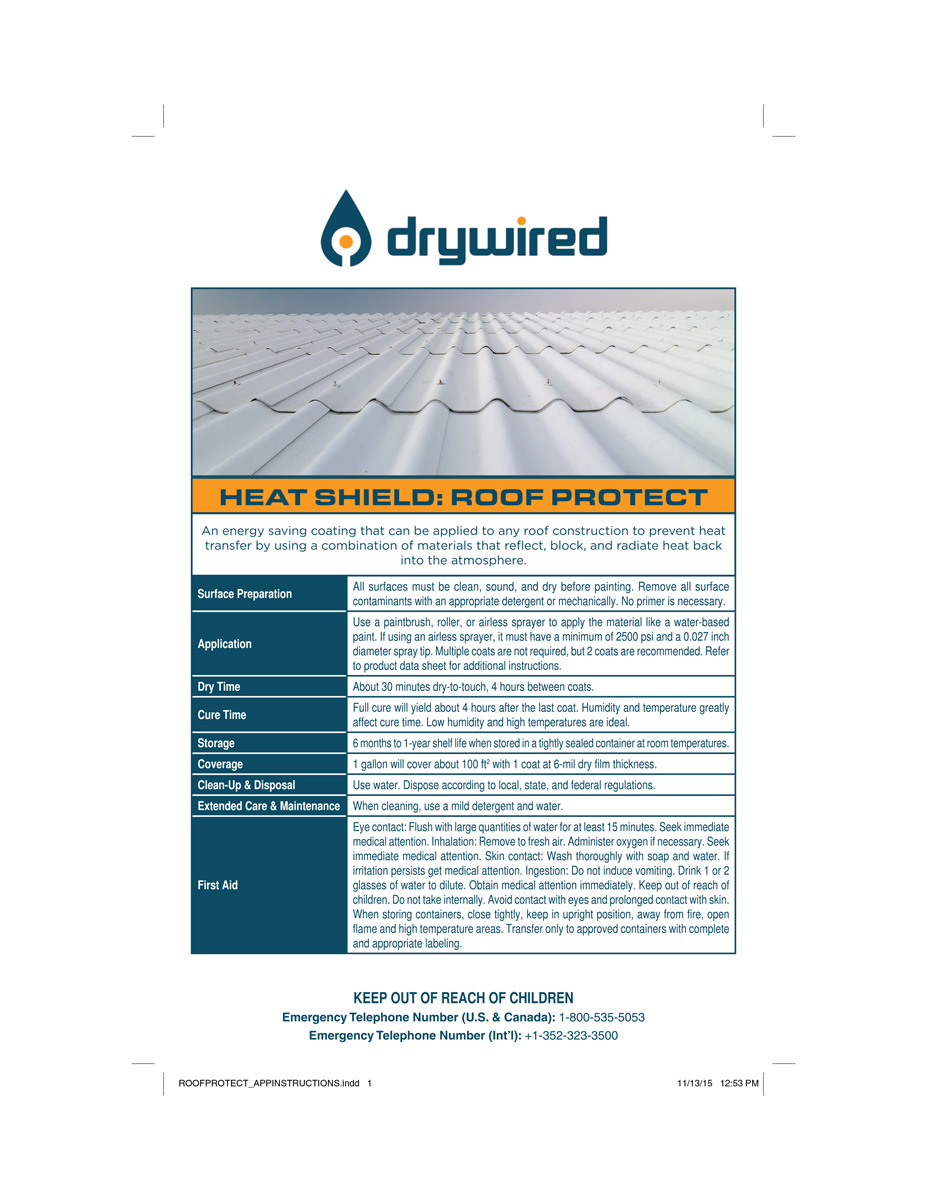 DryWired-Roof-Protect_application