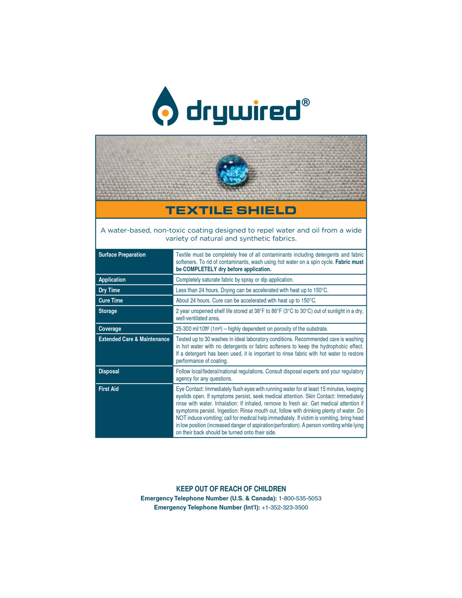 DryWired-Textile-Shield_application